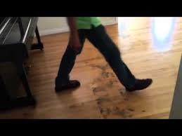 removing glue from hardwood floor