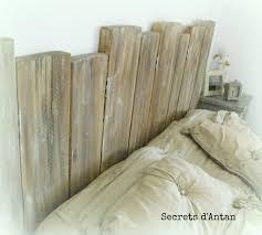 fabriquer porte de grange tete de lit bois de grange les 25 meilleures idées de la
