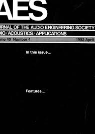aes e library complete journal volume 40 issue 4