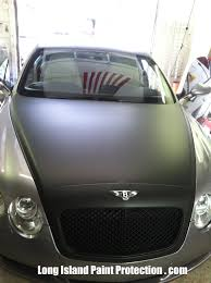 bentley silver the tint shop inc 3m matte black hood and grill u2013 bentley