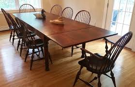 Handmade Kitchen Table New England Style Farm Tables New England Joinery Essex Ma