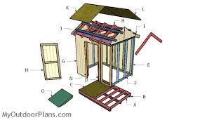 Diy Build A Shed Free Plans by Free 6x8 Shed Plans Myoutdoorplans Free Woodworking Plans And
