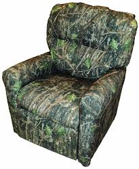 furniture unique recliner chair design ideas with cool camouflage