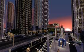 Modern City Detailed Modern City New Crafton Work In Progress Minecraft