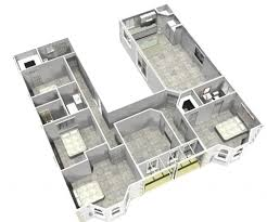 l shaped floor plan house plan u shaped house floor plans decorations ideas inspiring