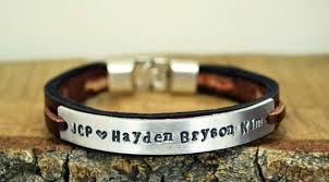 leather bracelet styles images 35 most trendy and cool leather bracelets for men jpg