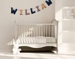 guirlande deco chambre guirlande prénom déco chambre bébé cadeau naissance