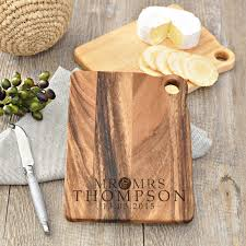 personalised cutting board personalised wooden cheese serving board set spatz mini peeps