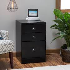 Wood 3 Drawer File Cabinet by Belham Living Cambridge 4 Drawer Filing Cabinet Black Hayneedle