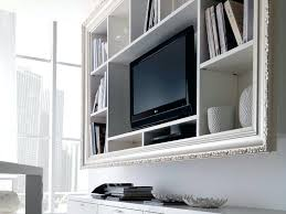 wall tv stand with shelves cabinet wall cabinet design for living