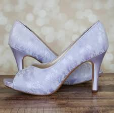 wedding shoes etsy lilac wedding shoes lilac lace shoes peeptoe bridal heels