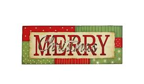 patchwork always and merry light up signs