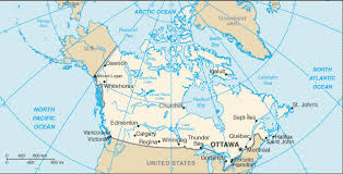 capital of canada map canada country flag map capital city population location bordering