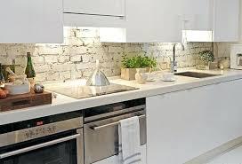 brick backsplashes for kitchens brick backsplash kitchen brick kitchen farmhouse with wood hood