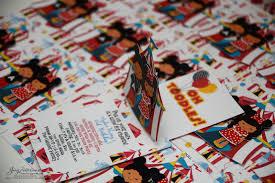 custom circus invitations jingvitations handmade invitations
