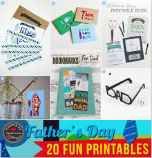 creative father u0027s day printables for homemade gifts