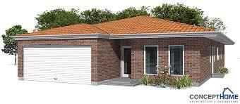 modern house new home house plan ch269