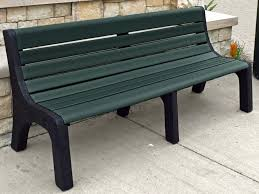 Picnic Benches For Schools Bench Recycled Plastic Bench Jayhawk Plastics Hex Recycled