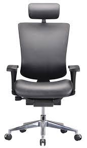 modern leather desk chair modrest watson modern black leather office chair office chairs