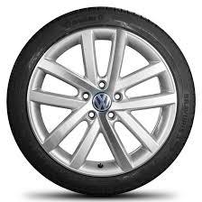 vw golf 5 6 7 18 inch alloy wheels rims summer tires