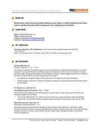 Resume Expected Graduation How To Write A Marketing Resume Hiring Managers Will Notice Free