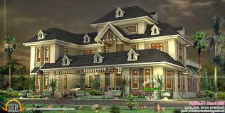 Colonial House Designs by August 2014 Kerala Home Design And Floor Plans
