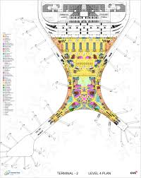Miami International Airport Terminal Map by Gallery Of Chhatrapati Shivaji International Airport Terminal 2