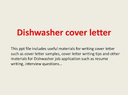 Dishwasher Description For Resume Dishwashercoverletter 140223002851 Phpapp02 Thumbnail 4 Jpg Cb U003d1393115355