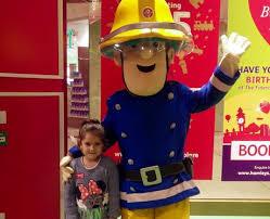 fireman sam visits hamleys intu lakeside heart essex