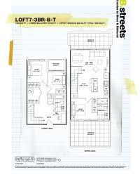 One Bloor Floor Plans B Streets Condos Bay U0026 Bloor Toronto
