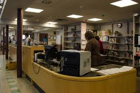 Library Reference Desk Robbinsville Branch Mercer County Library System