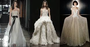 Wedding Dress Trend 2018 Spring Wedding Dresses 2018 Updating The Latest Trends For Next