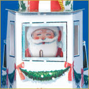 photo insert christmas cards tugboat santa pop up christmas gift card ornament pop up