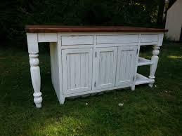 antique reclaimed barn wood kitchen island turned legs open