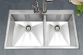 Kitchen Sink Top Houzer Stainless Steel Zero Small Radius Kitchen Sinks