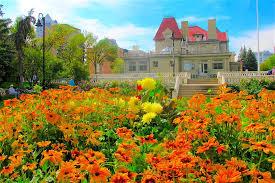 Botanical Gardens Calgary Gardens Lougheed House
