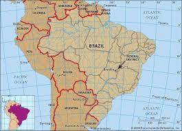 map of brasilia brasília national capital brazil britannica