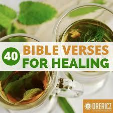 40 bible verses healing scriptures encourage