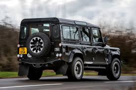 range rover defender 2018 new land rover defender works v8 2018 review auto express