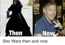 Memes Star Wars - comic con then no star wars then and now meme on me me