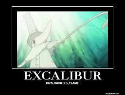 Soul Eater Excalibur Meme - excalibur by megamakachop on deviantart