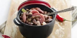 recette cuisine br駸ilienne feijoada brésil facile recette sur cuisine actuelle