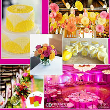 yellow and green wedding theme romantic wedding