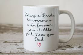 wedding gift mugs fathers hold our hearts mug wedding gift for the mugs