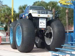 all bigfoot monster trucks big foot monster truck fun spot usa