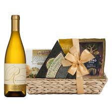 wine and cheese basket chardonnay cheese gift set wine