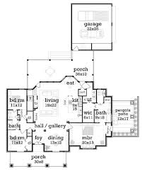 craftsman style house plan 3 beds 2 baths 1976 sq ft plan 45