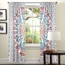 Boho Window Curtains Mandala Indian Curtains Wall Tapestry Boho Window Curtain