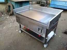 commercial cuisine stainless steel plate with griddle grill plate for hotels