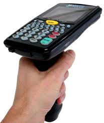 7100 mobile rf terminals with built in bar code scanner worth data